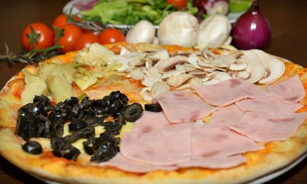 Pizza Quatro Stagioni 32cm
